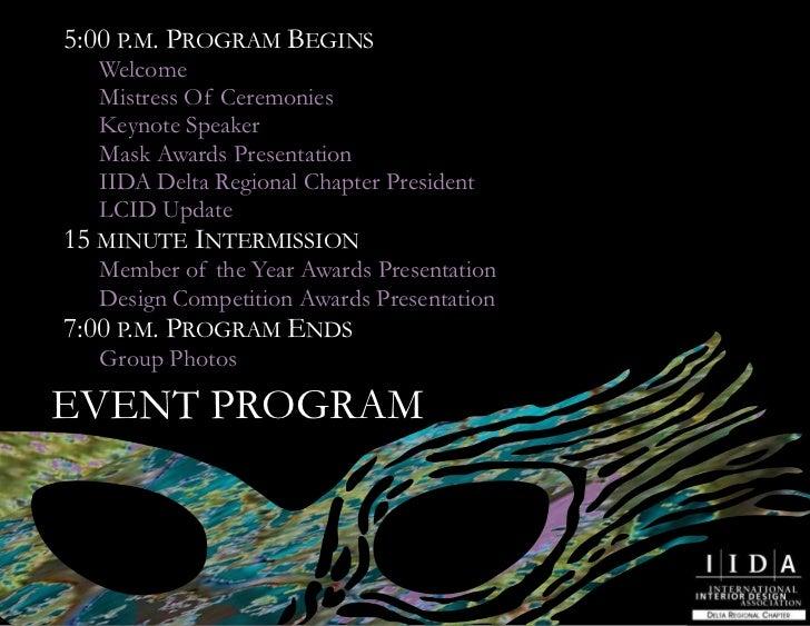 event program