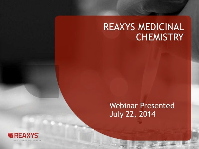 Reaxys Medicinal Chemistry 2014