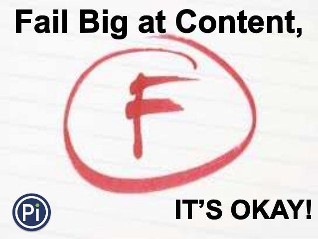 Rebecca Bridge_SearchLove San Diego 2013_Fail Big at Content, It's Okay
