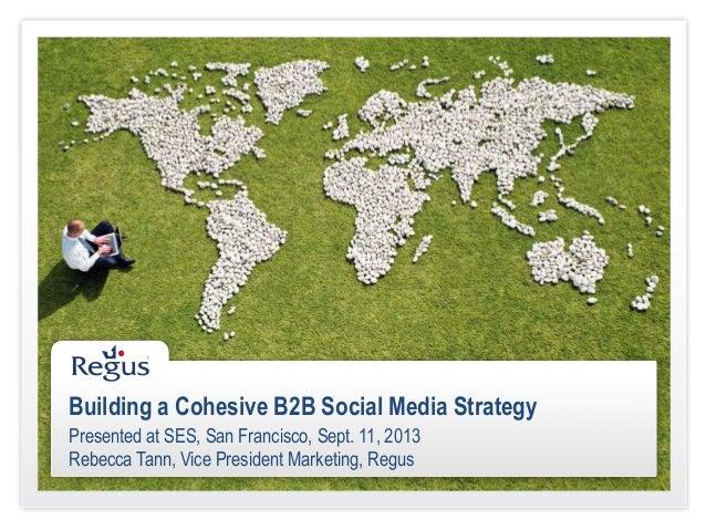 Building a Cohesive B2B Social Media Strategy
