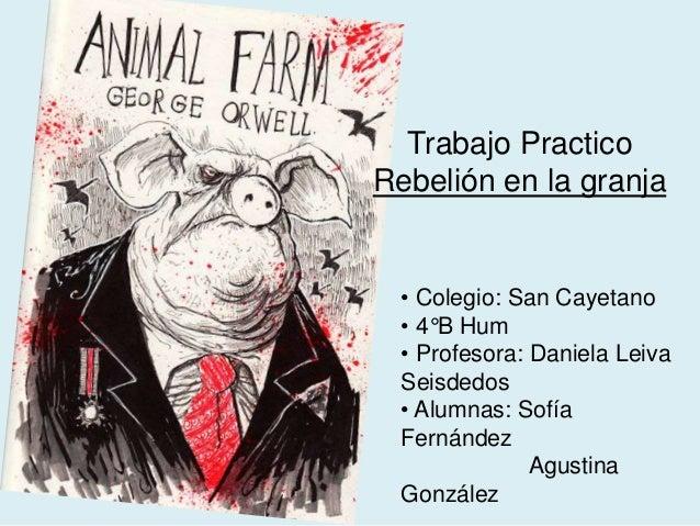 la granja de los animales george orwell the knownledge
