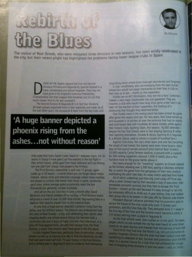 Rebirth of the blues