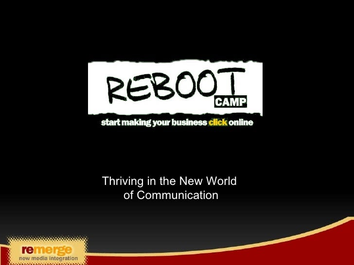 Reboot Presentation For Business  Email Marketing To Post