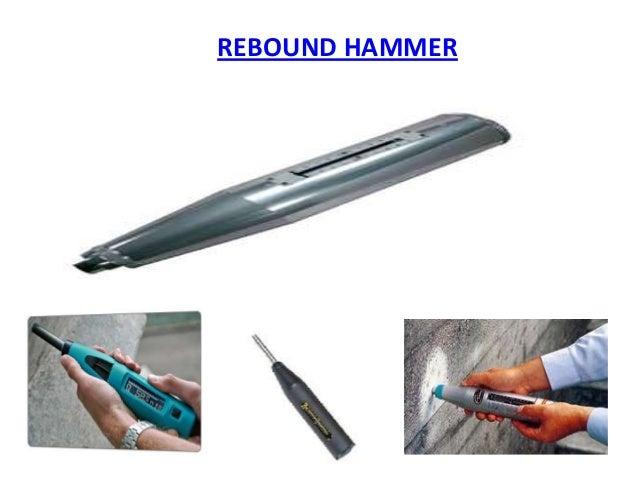 Rebound hammer testing