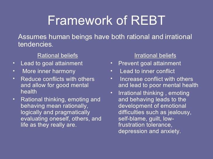 Rebt Albert Ellis on Rebt Worksheets