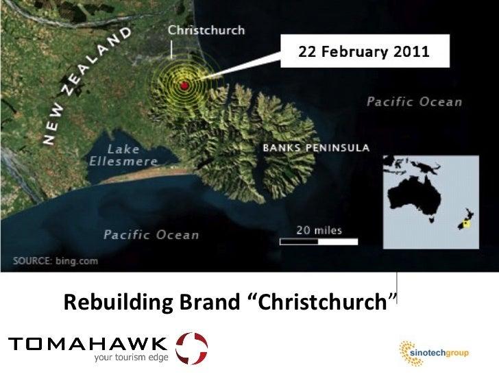 """Rebuilding Brand """"Christchurch"""""""