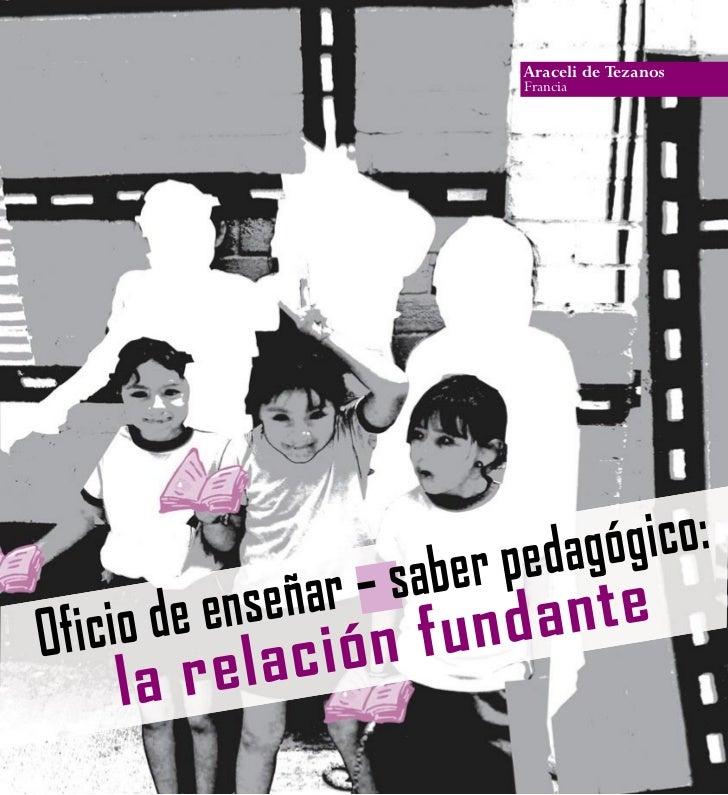 Rec12 oficio ensenar_saber_pedagogico araceli de terzanos