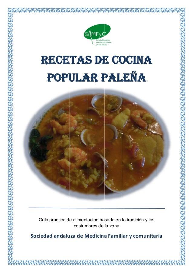 So  RE P Guía pr ociedad ECET POPU ráctica de andalu ETAS ULA e aliment costum uzadeM S DE AR P tación ba mbres de...