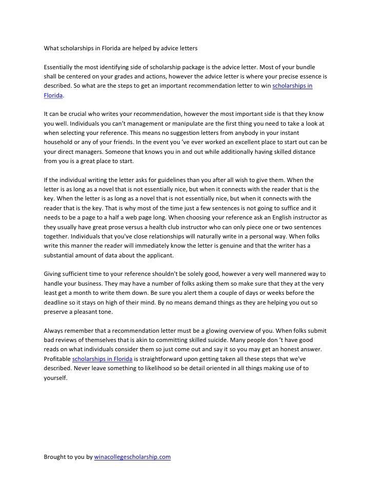 Free Essay For Scholarship