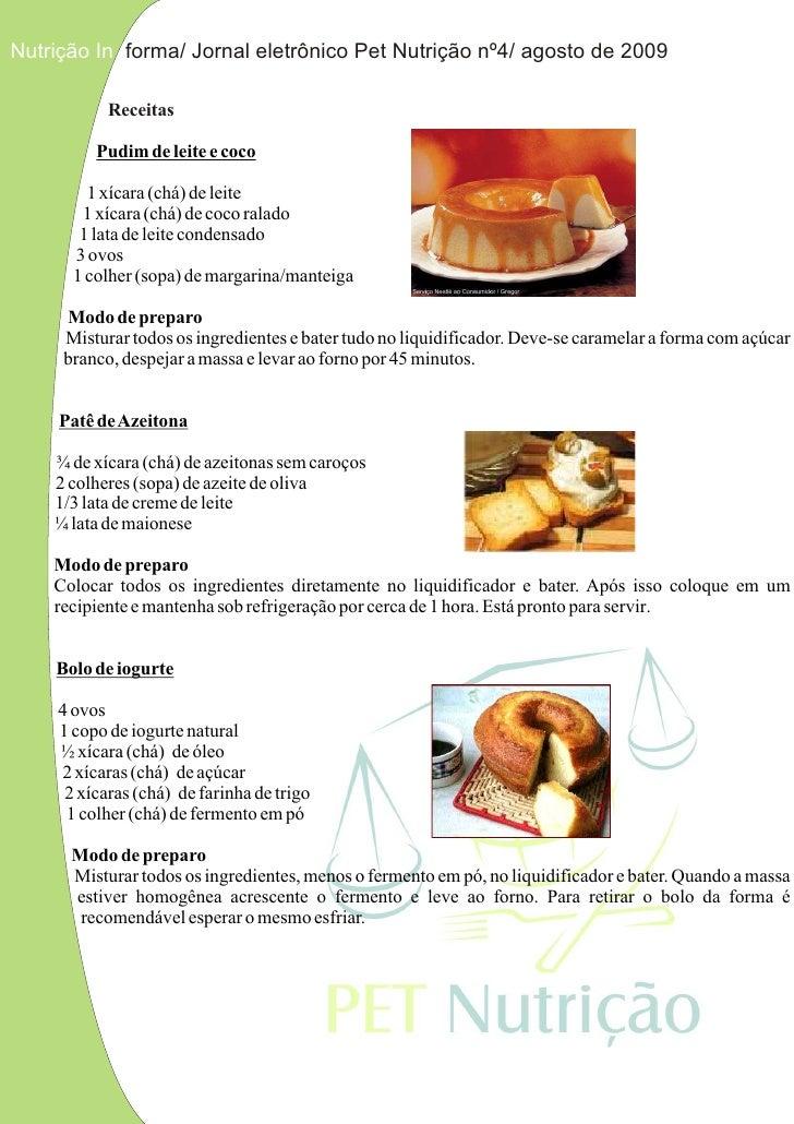Receita Bolo De Iogurte