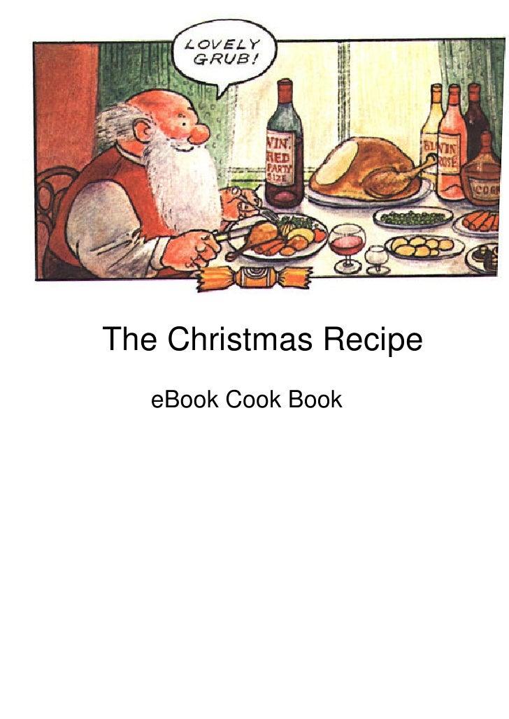 Receitas  Holiday  Christmas