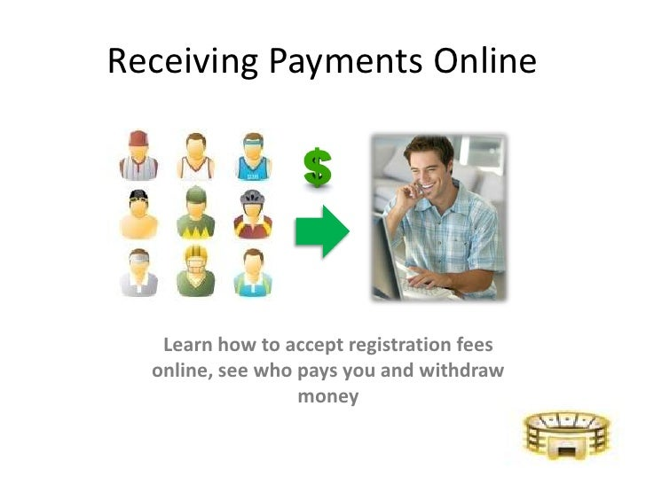 Receiving Payments Online - StadiumRoar.com
