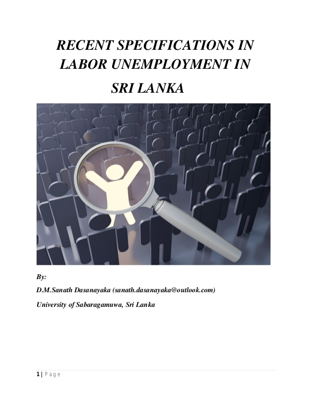 unemployment problem and solution essay