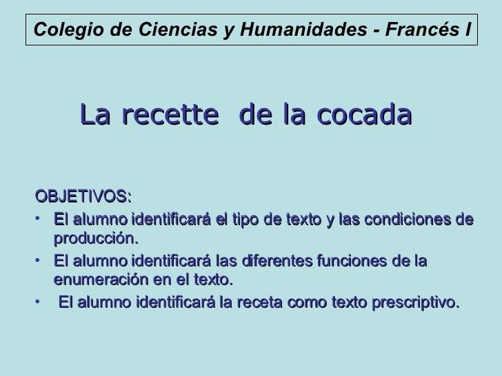 Receta De La Cocada