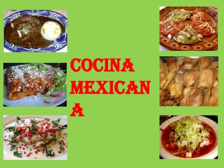 COCINA MEXICANA<br />