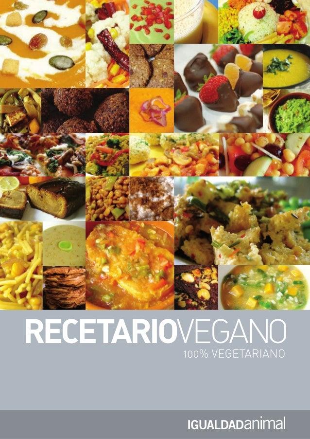 Recetario.vegetariano - Defensa.Animal