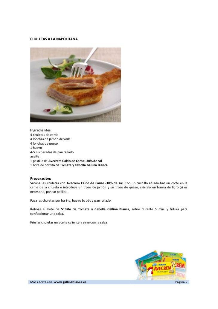 Image Result For Recetas De Cocina En Ingles Basico