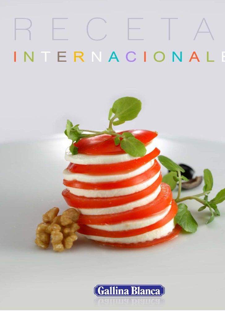 Recetario Internacional