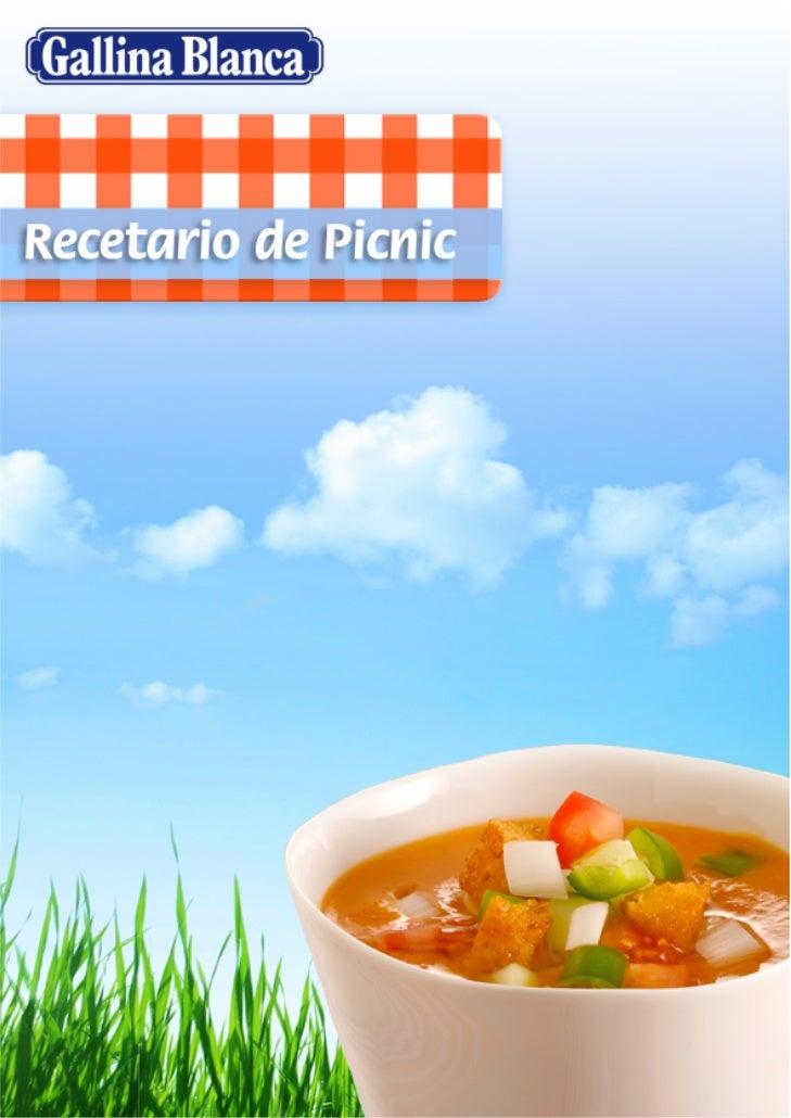 Recetario picnic
