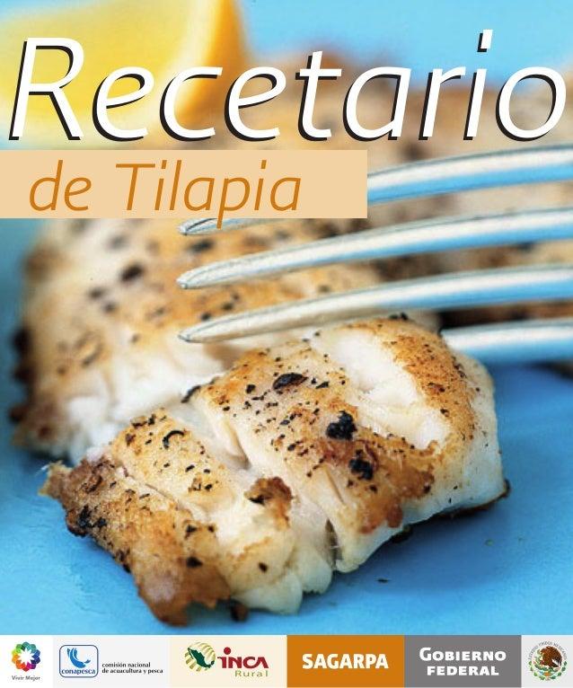 Recetariode Tilapia