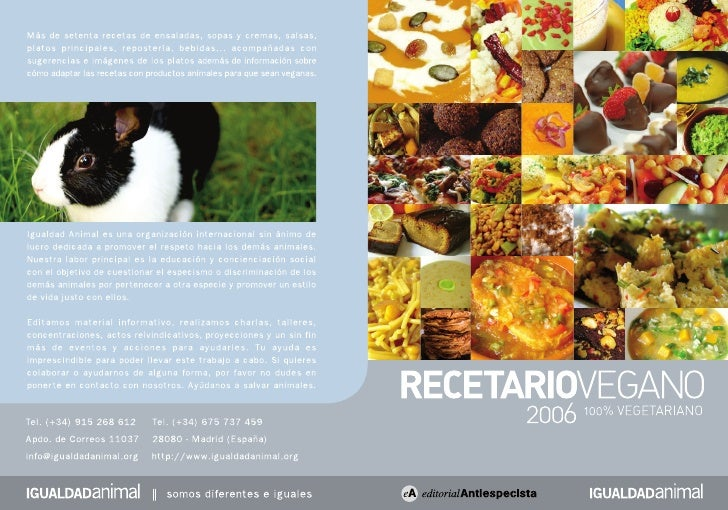 Dedicado a todos los animales que son víctimas de nuestros hábitos alimenticios.    Los animales no-humanos (no olvidemos ...