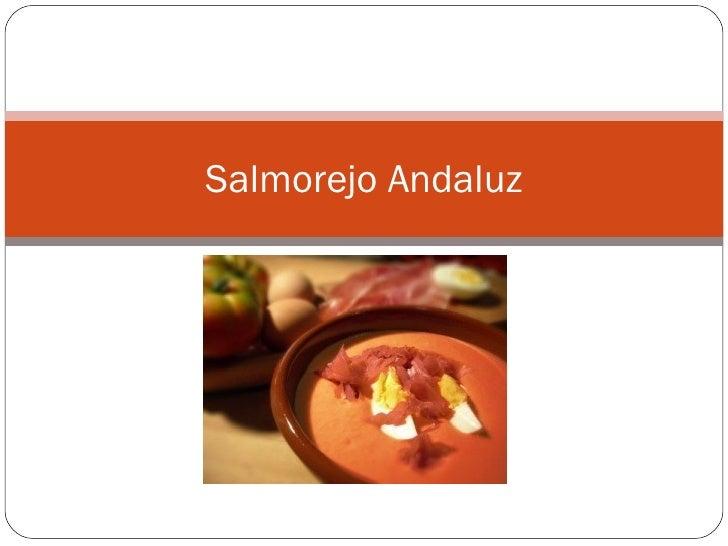 Salmorejo Andaluz