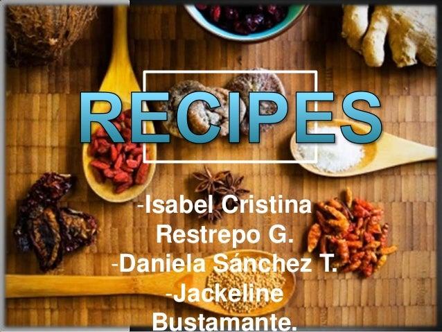 -Isabel CristinaRestrepo G.-Daniela Sánchez T.-JackelineBustamante.