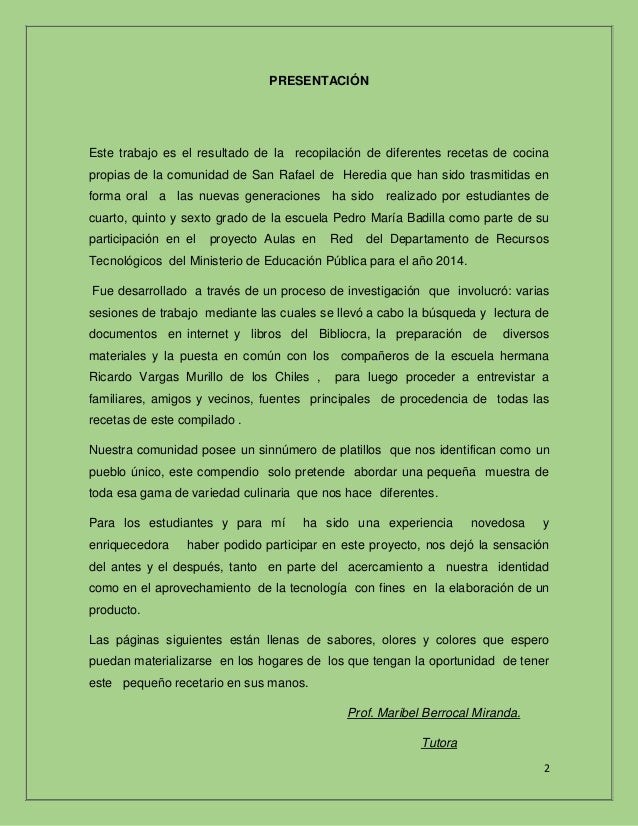 Recetas pdf for Procesos de preelaboracion y conservacion en cocina pdf