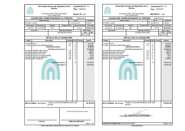 23120537 Categoría Interina ALONSO, LAURA Agrupamiento LIQUIDACIÓN CORRESPONDIENTE AL PERÍODO: Apellido y Nombre Dependenc...