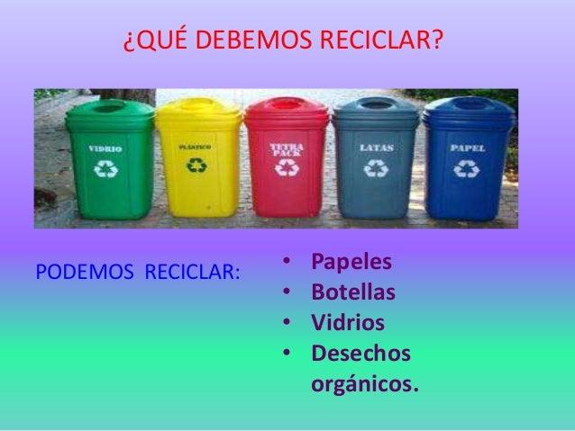 Reciclaje 6toa primaria ie augusto b legu a - Colores para reciclar ...