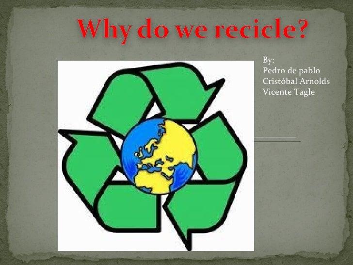 Reciclaje ingles
