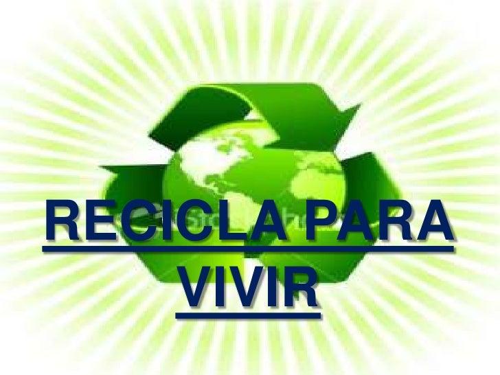 Webquest sobre el reciclaje - Cosas de reciclaje ...