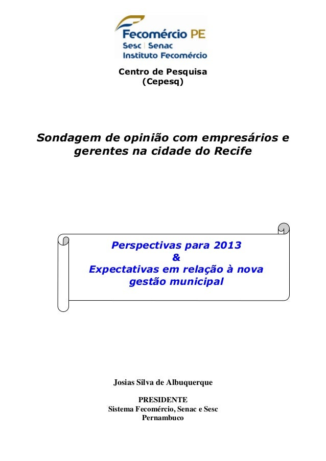 Recife   expectativa nova gestao - graficos