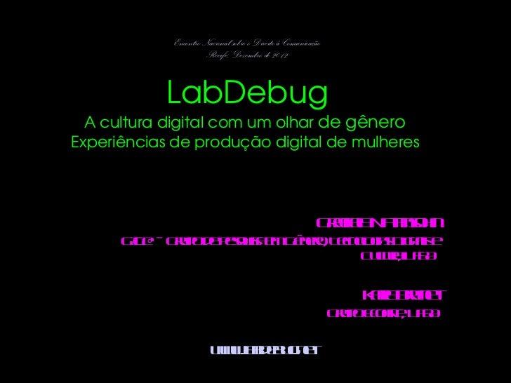 LabDebug - Evento em Recife