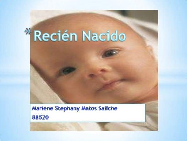 Recién nacido a término corresponde al nacido entre las semanas 37-42 de gestación, de peso adecuado y sin patología prese...