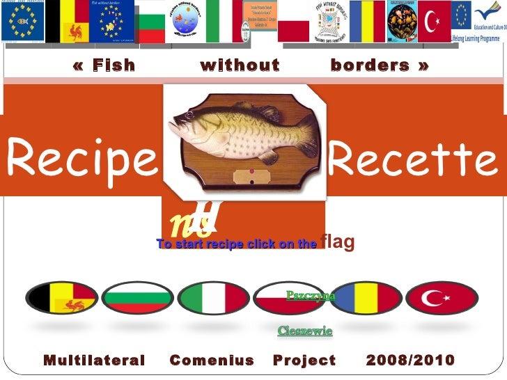 Recipe fish recette