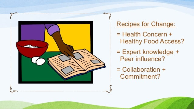 Recipes For Change Health
