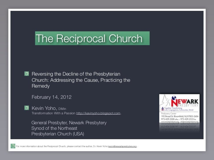 Reciprocal Church 1 of 4 Who's On First?