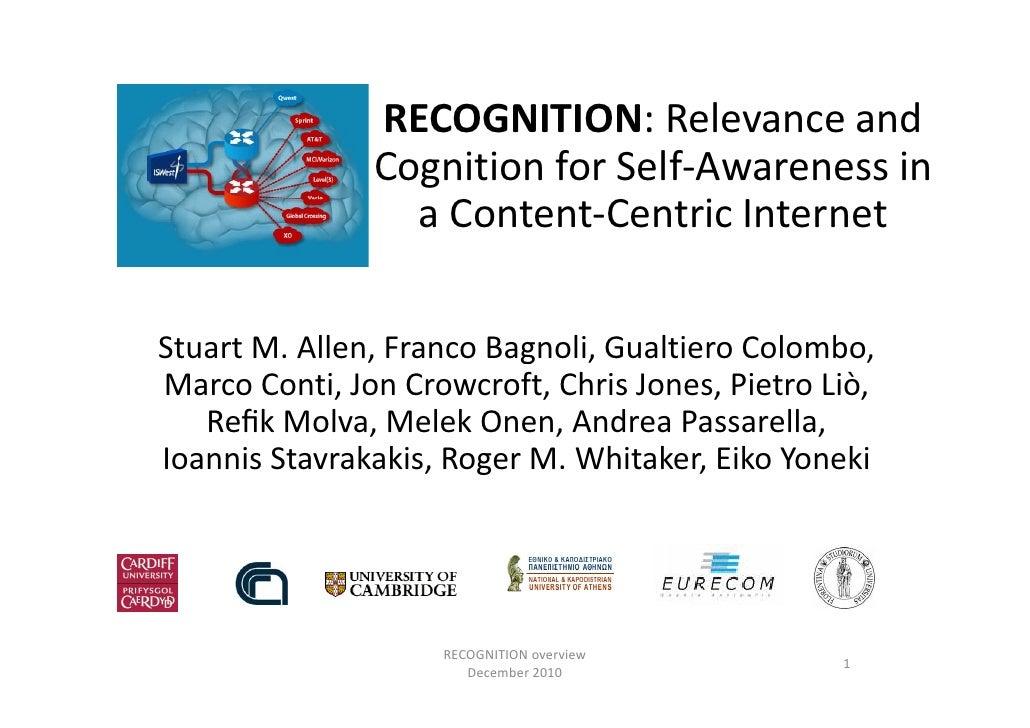 Recognition introduction-dec-2010