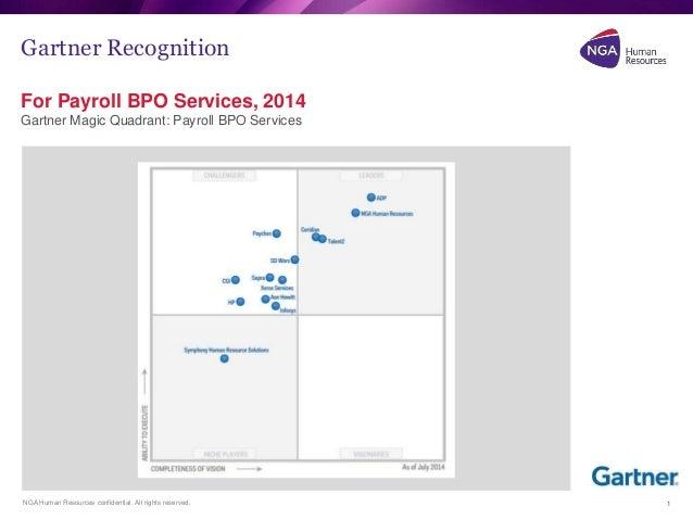 NGA named leader in Gartner's Payroll BPO Magic Quadrant
