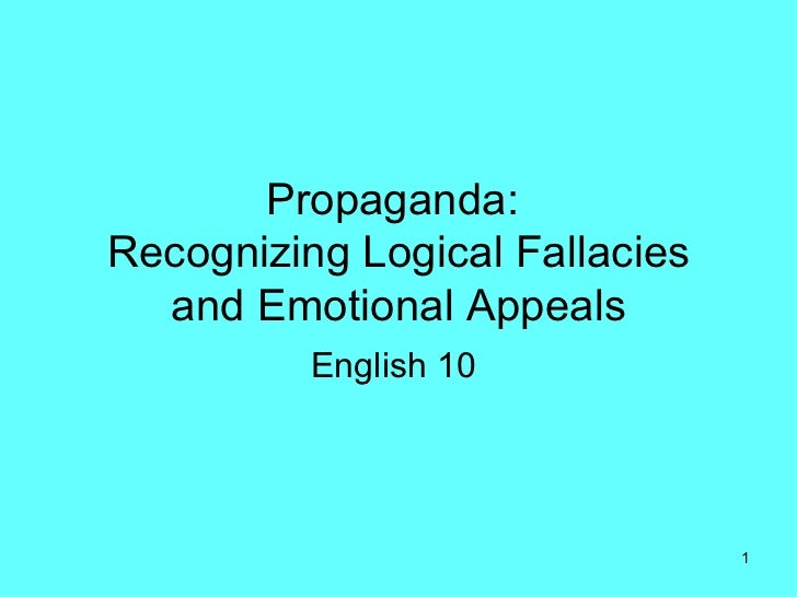 types of fallacy in critical thinking