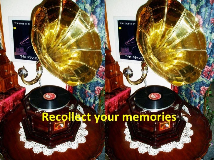 Recollect your memories