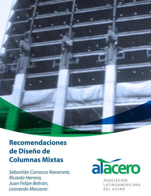 Recomendaciones de Diseño de Columnas Mixtas de Acero-Hormigón - 2 - Ficha catalográfica Sebastián Carrasco Navarrete Rica...