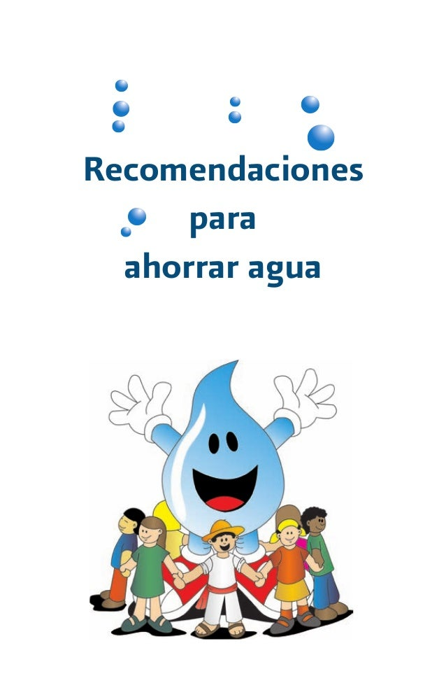 Recomendaciones para ahorrar agua - Formas para ahorrar agua ...
