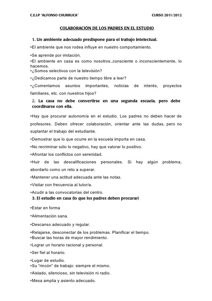 "C.E.I.P ""ALFONSO CHURRUCA""                                             CURSO 2011/2012                   COLABORACIÓN DE L..."
