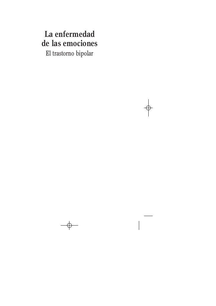 Recomendado la enfermedad de las emociones. el trastorno bipolar 216 págs. ok