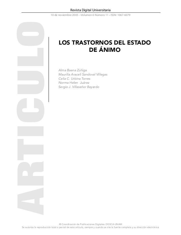 Revista Digital Universitaria                           10 de noviembre 2005 • Volumen 6 Número 11 • ISSN: 1067-6079      ...