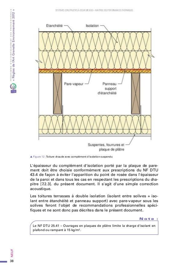 prorage systèmes constructifs ossature bois  Mars 2013