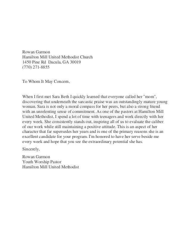 Letter of recommendation from church pastor akbaeenw letter of recommendation from church pastor gallery of church recommendation letter letter of recommendation from church pastor altavistaventures Image collections