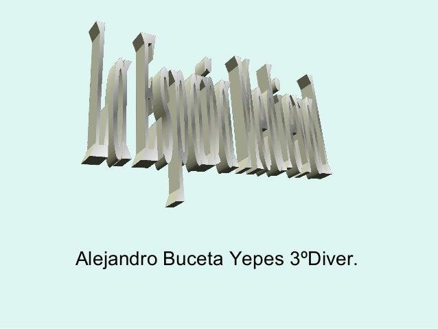 Alejandro Buceta Yepes 3ºDiver.